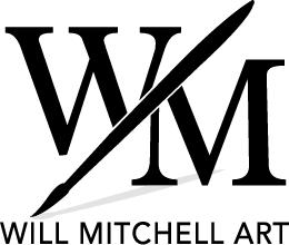 Will Mitchell Art Logo