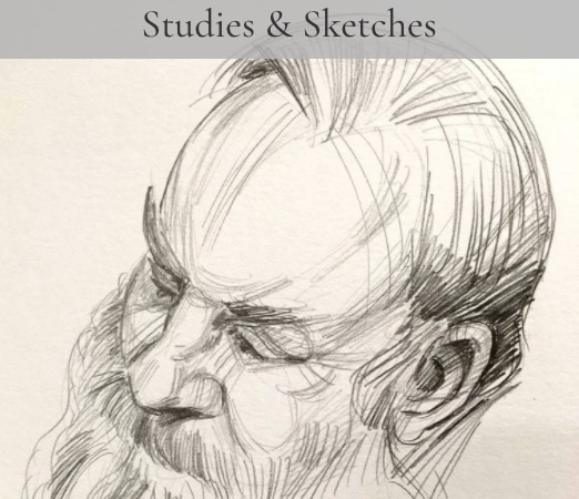 Studies and Sketches by Will Mitchell